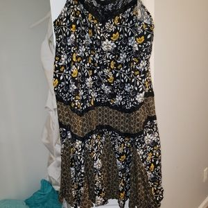 Torrid trapeze floral dress